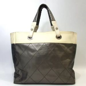 CHANEL Paris-Biarritz tote large